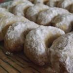Croissants de Lune ou Croissants aux noisettes