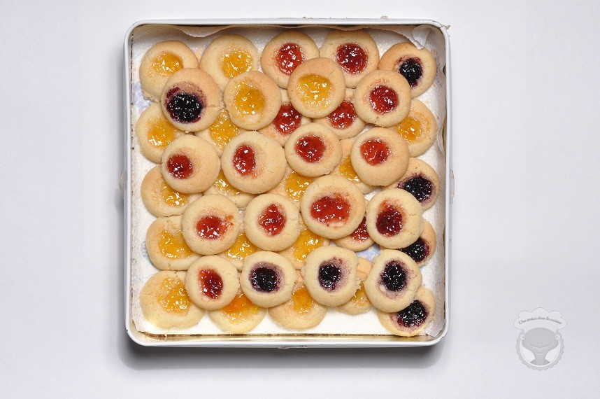 biscuits confiture
