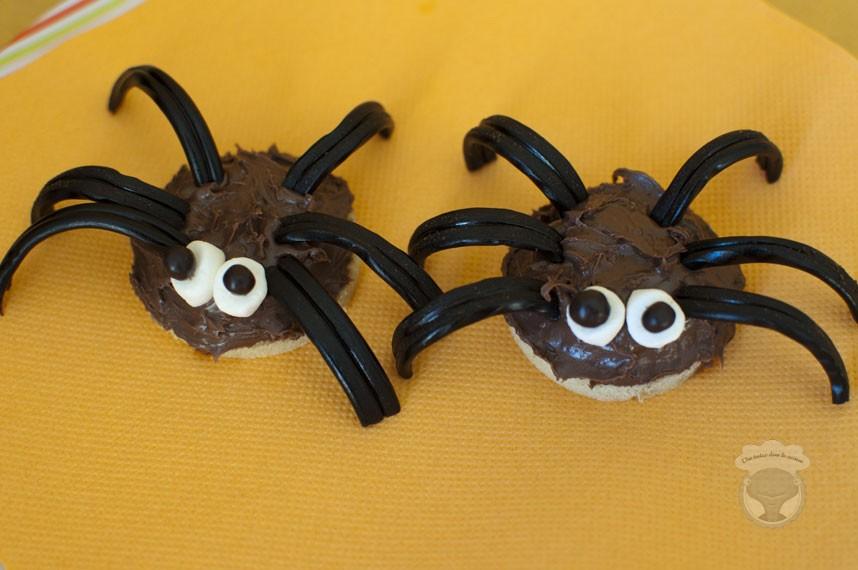 Les araign es d halloween une tortue dans la cuisine - Recette de cuisine pour halloween facile ...