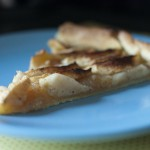 Tarte aux pommes, cannelle et vanille
