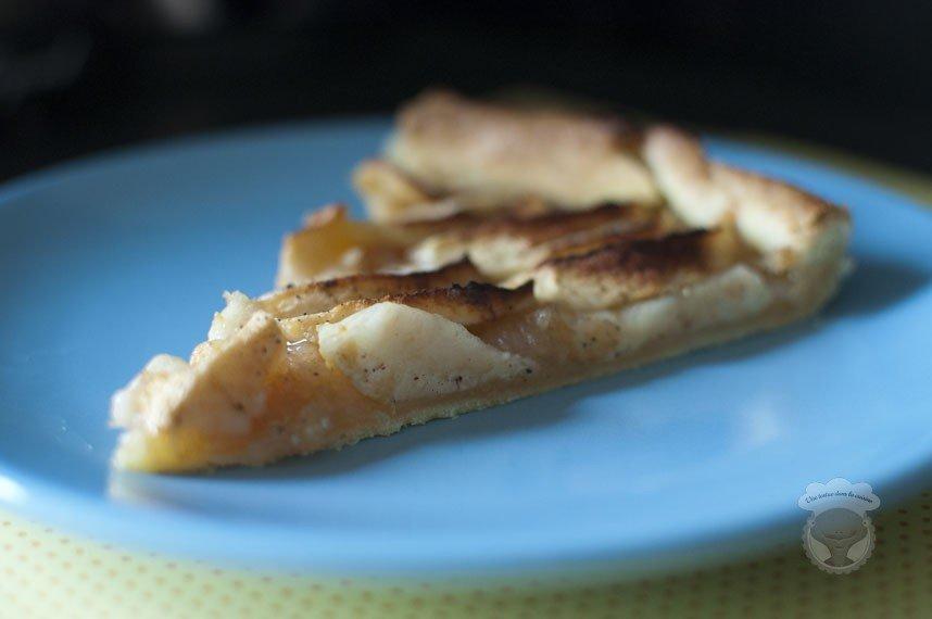tarte pommes maison
