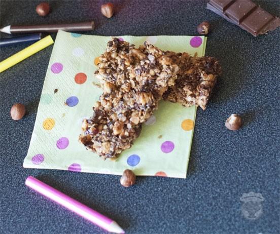 barres de cereales pour le gouter