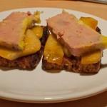 Foie gras, poires, miel et pain d'épices, le mariage parfait