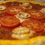 Tarte salée super simple façon pizza !