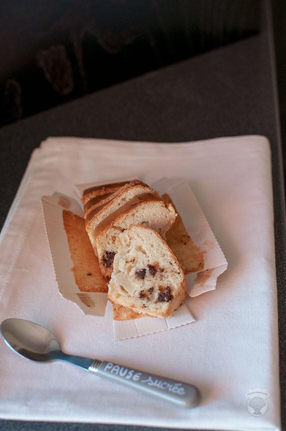 cake moelleux poires chocolat amande (sans beurre et sans lait)