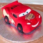 Gâteau sculpté et Topsy Turvy