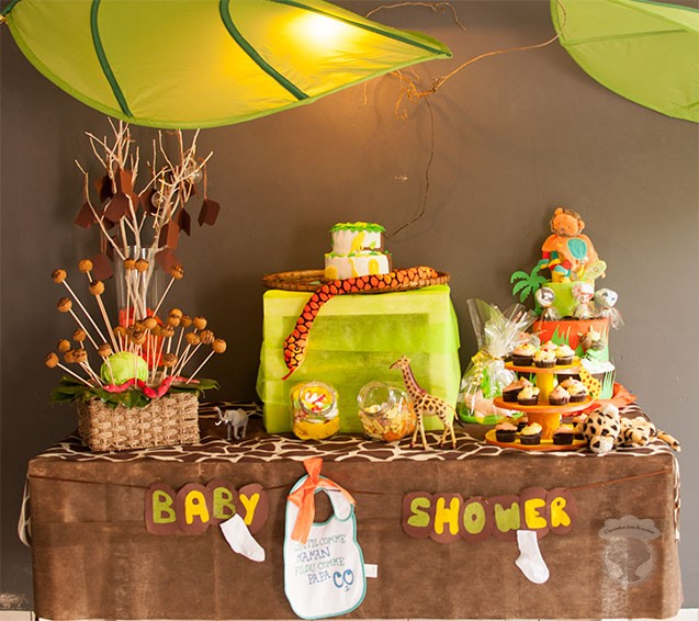 baby shower garcon jungle1