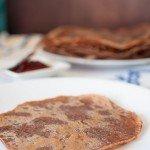 Crêpes au chocolat au soja (sans lactose, sans beurre et sans oeuf)