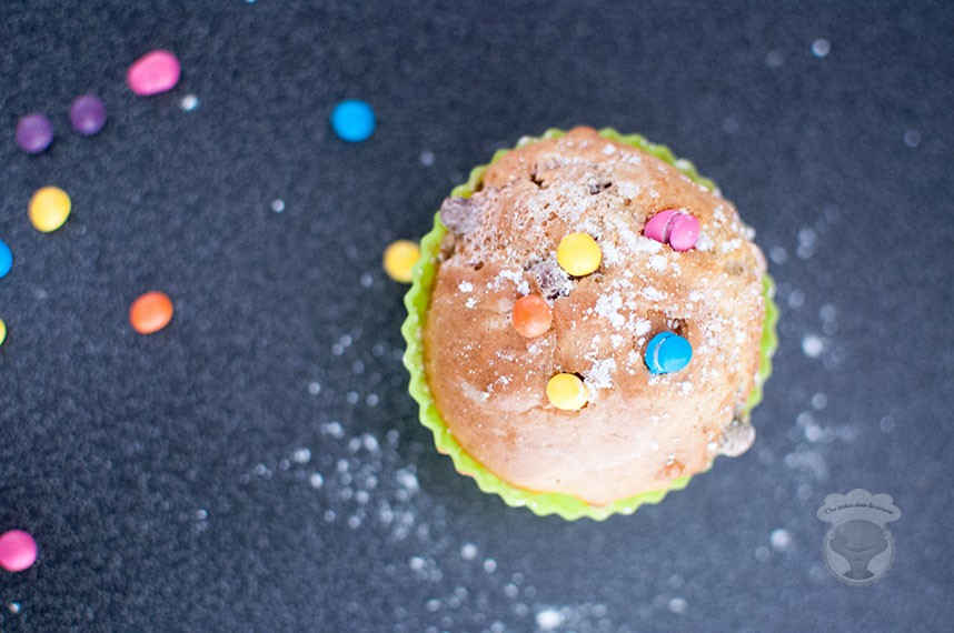 muffin smarties yaourt