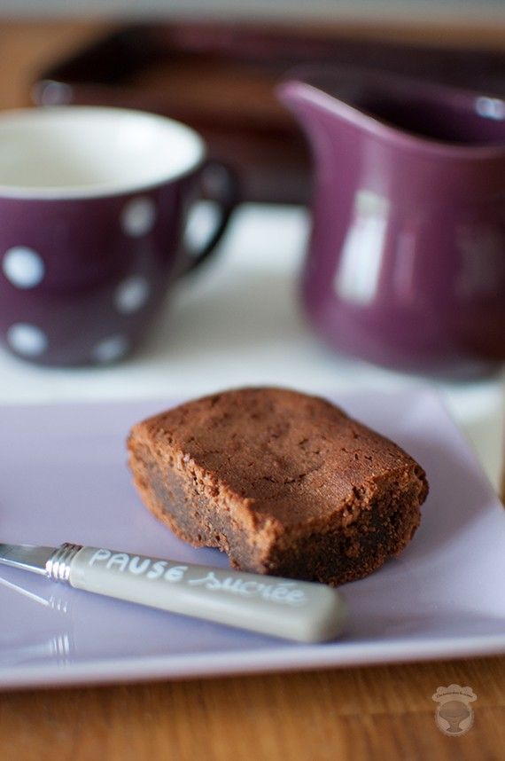 brownie chocolat marron