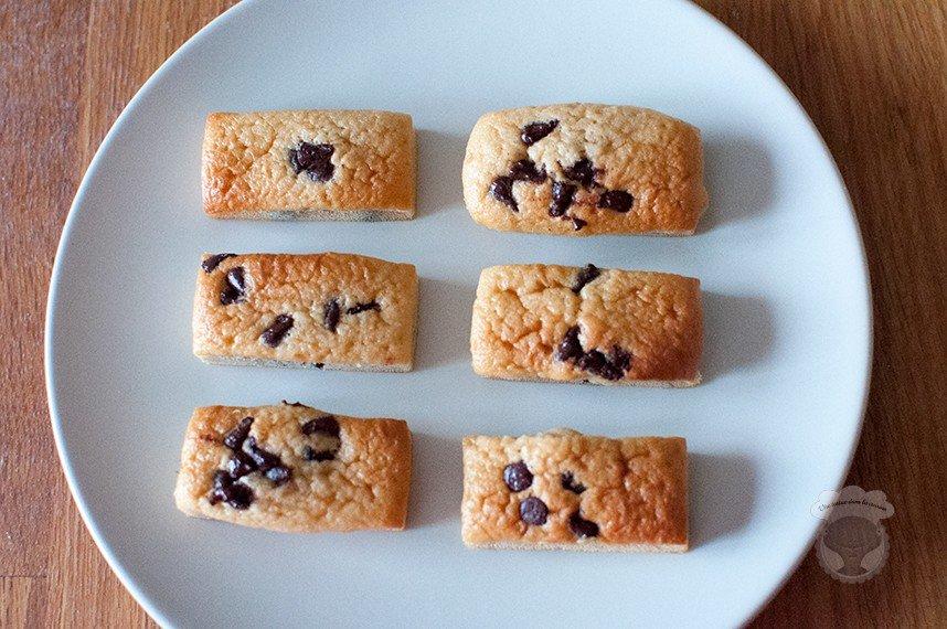 mini cake pépites de chocolat