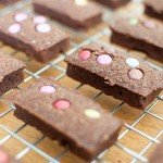 Financiers au chocolat et aux Smarties®