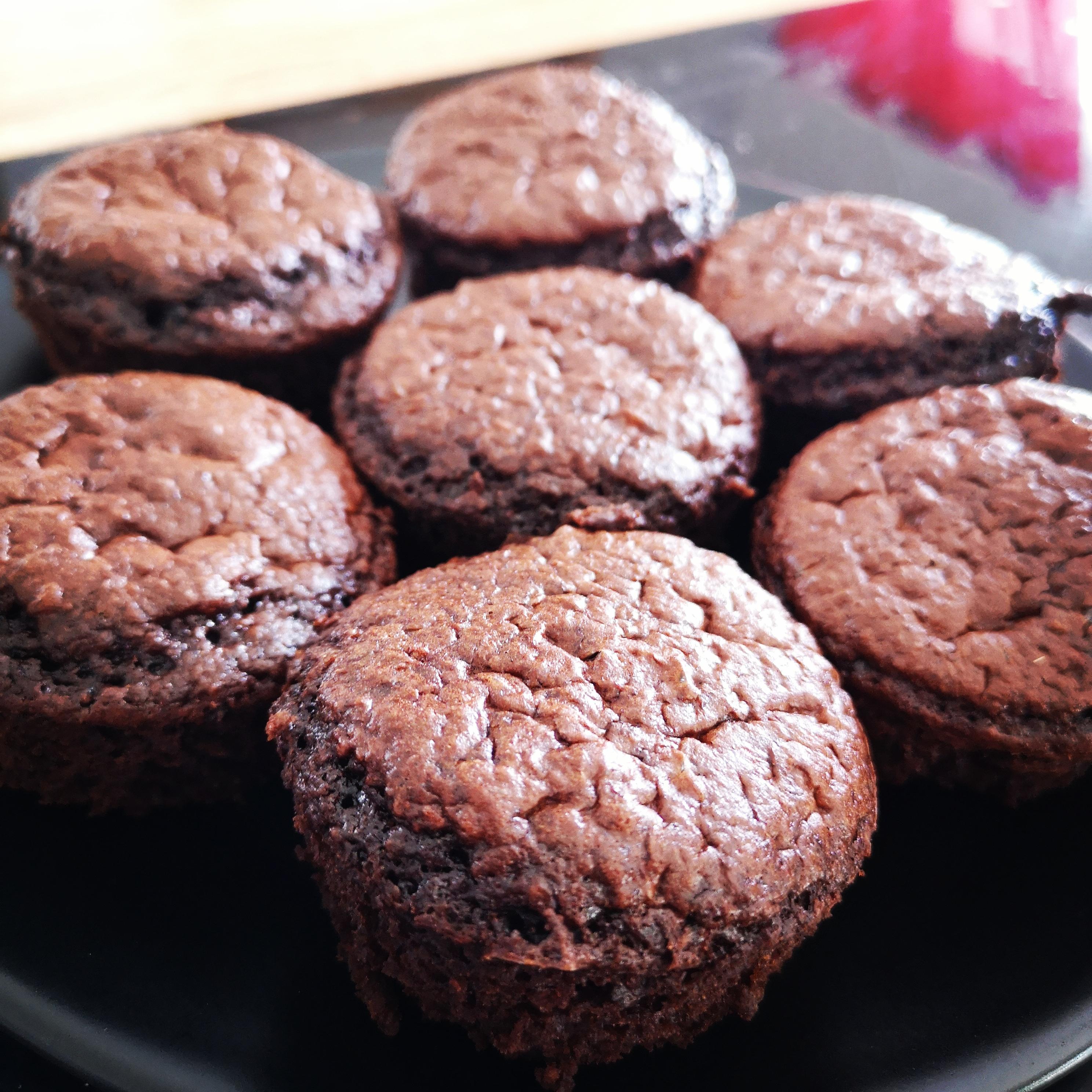 gateau chocolat compote sans beurre