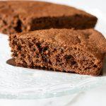 Gâteau fondant au chocolat sans beurre